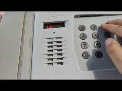 как открыть домофон факториал без ключа