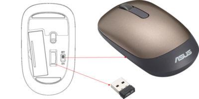 как подключить беспроводную мышь