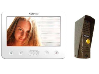 как подключить видеодомофон в частном доме