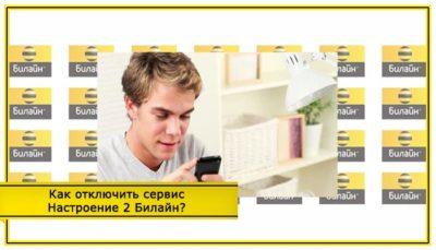 информационно развлекательные сервисы билайн как отключить